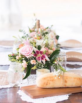 Peach Summer Wedding Inspiration Floral