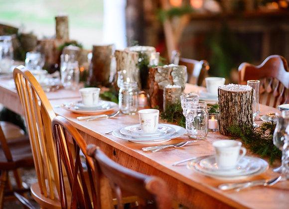 light farm tables
