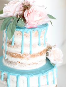 Ice Cream Farm Wedding Styled Shoot Blue