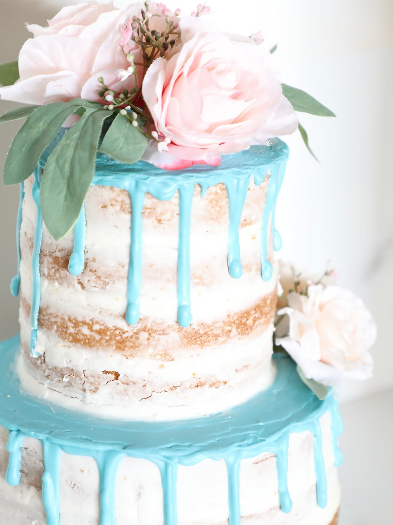 Ice Cream Farm Wedding Styled Shoot Blue