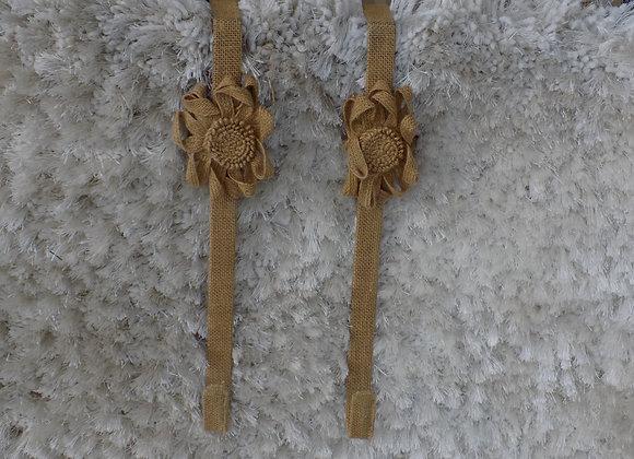 Burlap Wreath Hangers