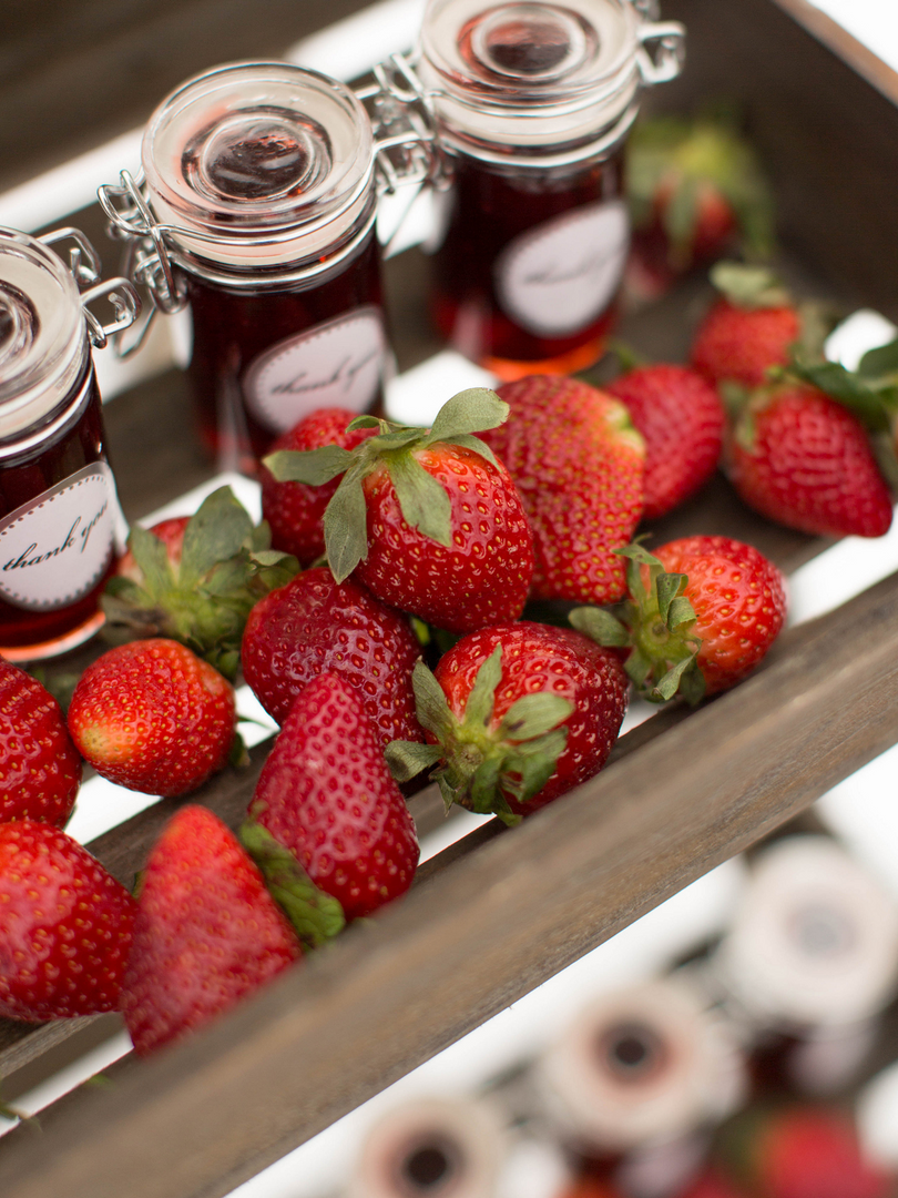 Winter Wedding Styled Shoot Strawberries
