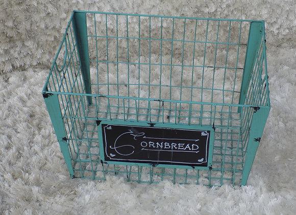 Large Teal Basket