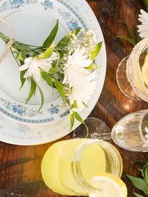Rustic Farm Table Virginia Wedding Vinta