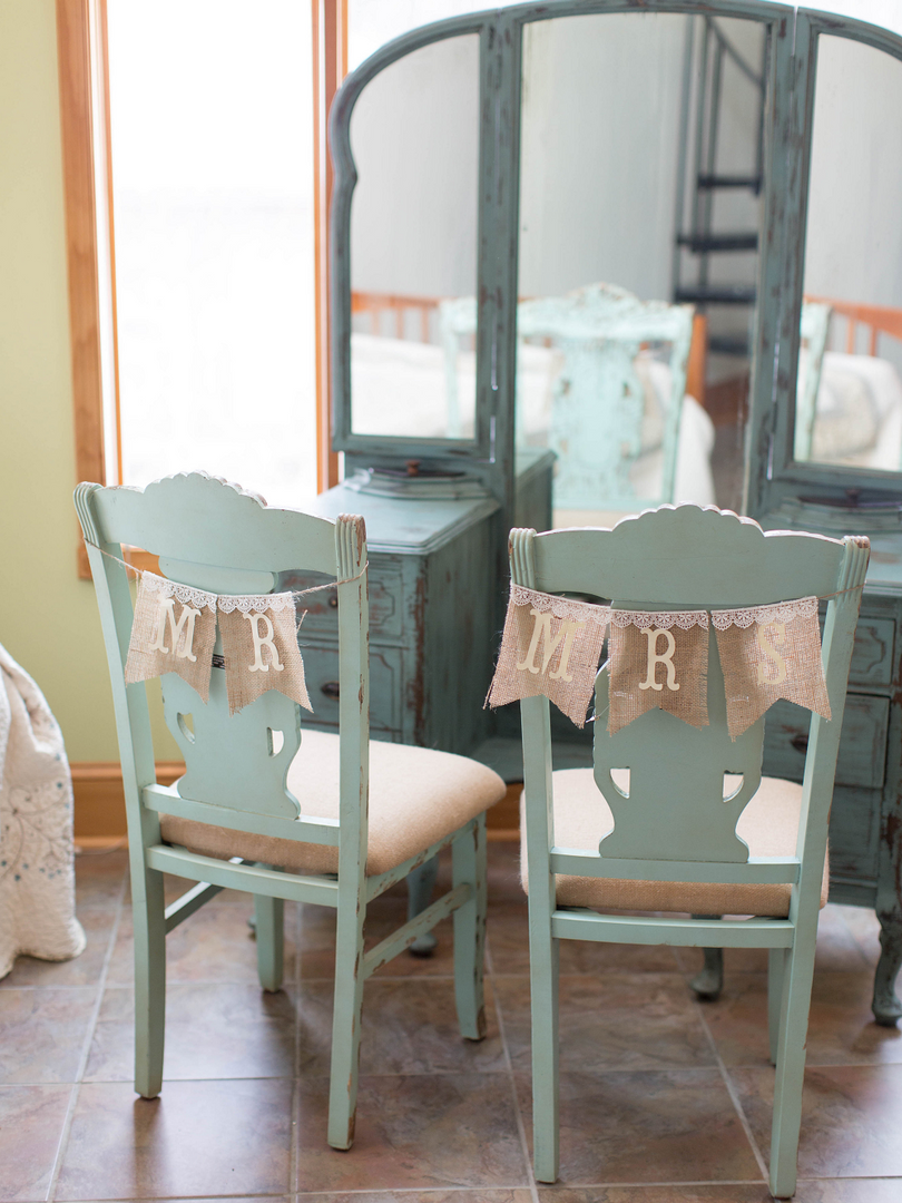 Winter Wedding Styled Shoot Teal Vanity