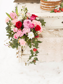 Winter Wedding Styled Shoot Blush and Re