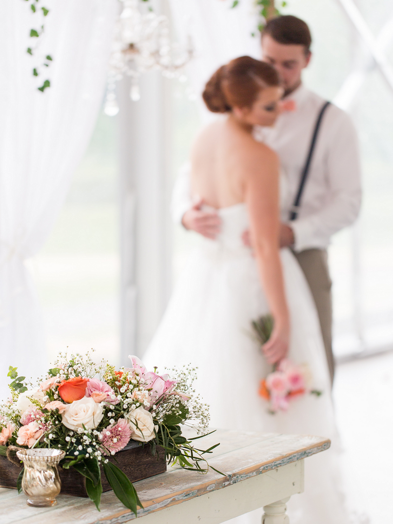 Peach Summer Wedding Inspiration Peach B
