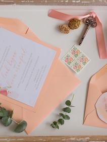 Peach Summer Wedding Inspiration Peach S