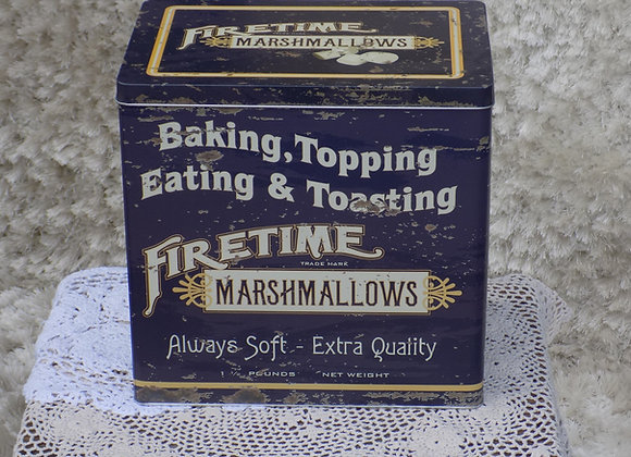 Marshmallow Tin