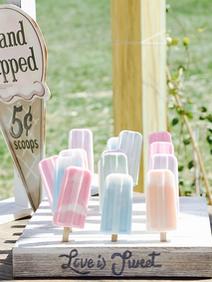 Ice Cream Farm Wedding Styled Shoot Hand