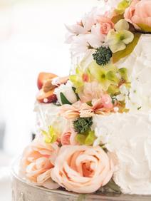 Peach Summer Wedding Inspiration Wedding