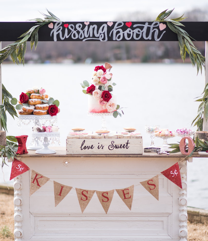 Romantic Wedding Valentine's Day Styled