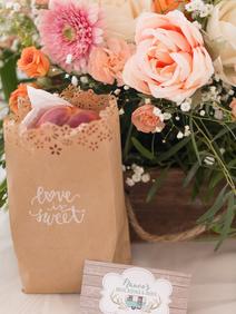 Peach Summer Wedding Inspiration Peach f