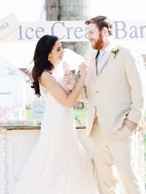 Ice Cream Farm Wedding Styled Shoot Brid