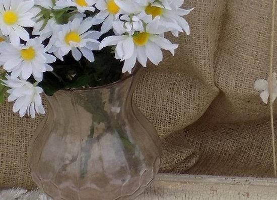 Pink Flower Vase - Glass