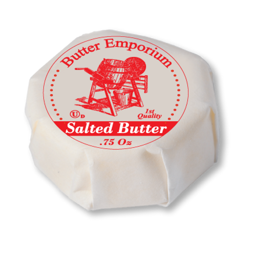 I.W Salted Butter Medallions