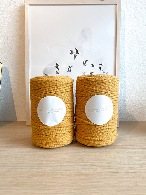 LUXE braided (Honey) 4mm