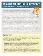Tips For Infant & Toddler Teachers and C