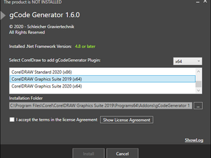Installation of gCode Generator (step by step)