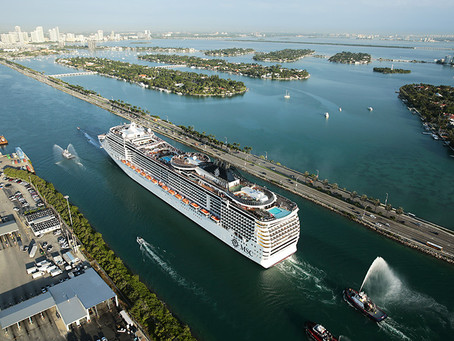 No Slowing Down Cruise Projects at PortMiamiSeptember 01, 2020