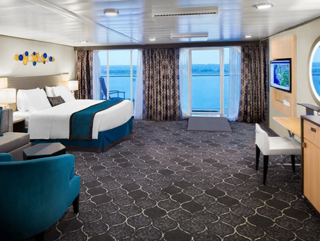 "Royal Caribbean ask's ""What's the difference between a balcony and a suite cabin on a cruise?"""
