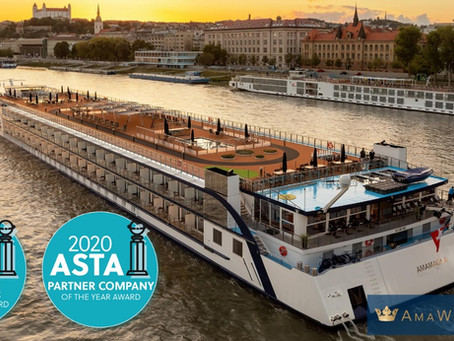 AmaWaterways ASTA Award
