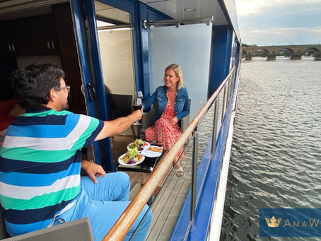 AmaWaterways - Diner on Your Balcony