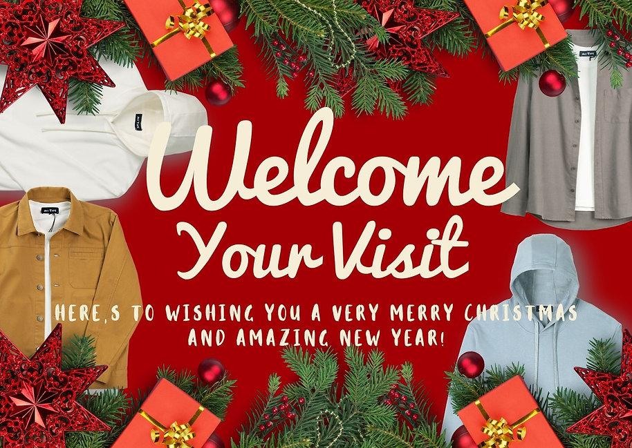 Red Christmas Decor Christmas Thank You