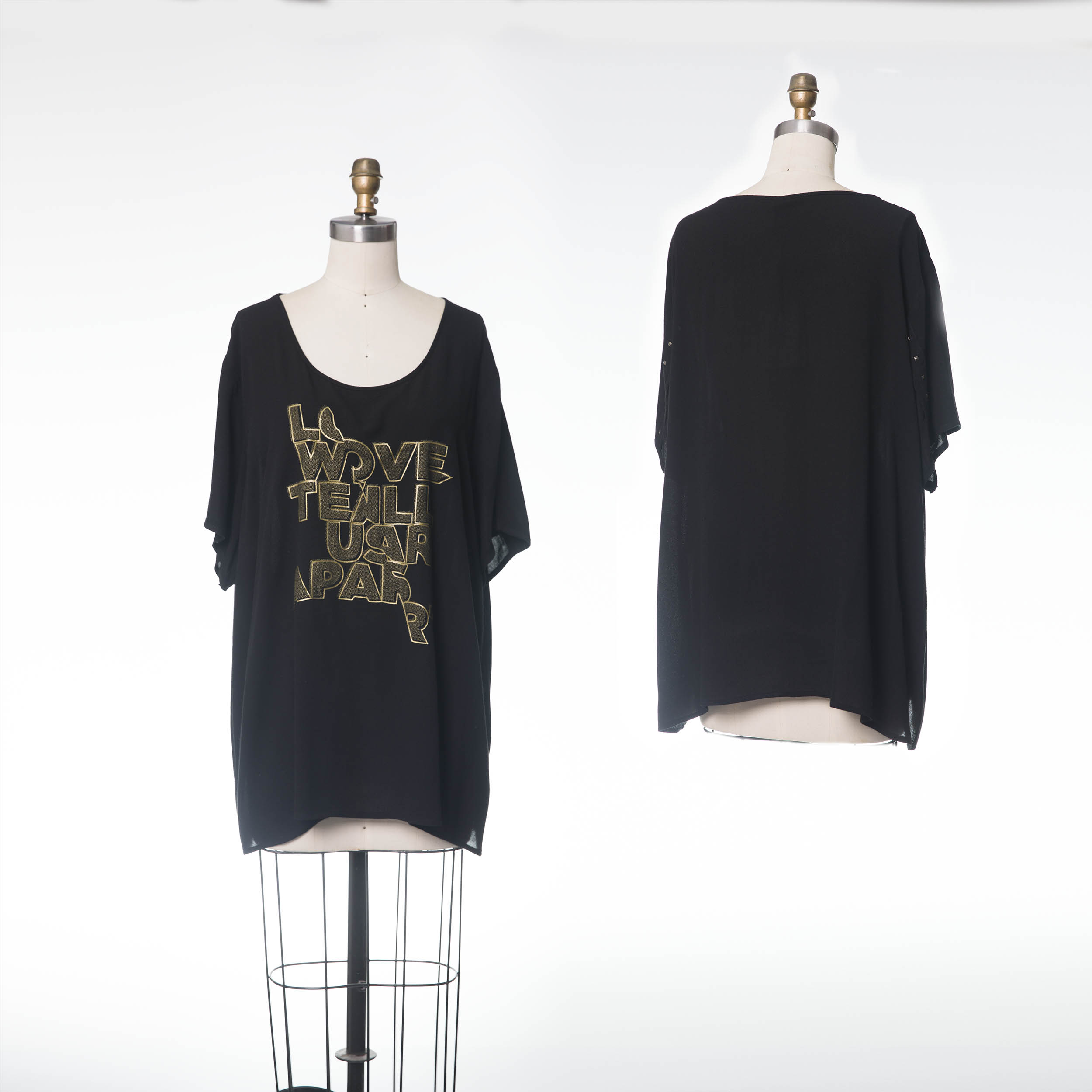BLOUSE 784367 B -BLACK
