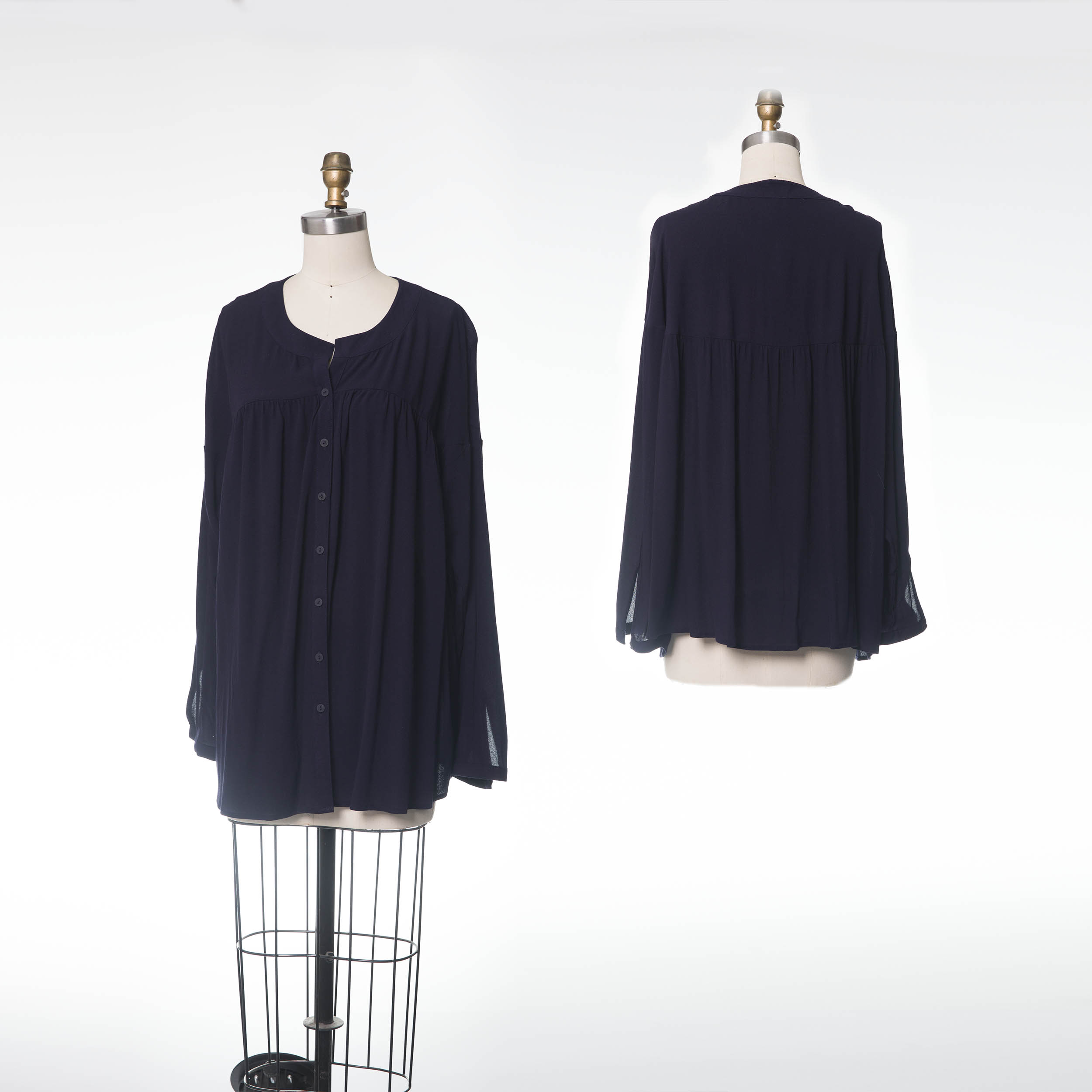 BLOUSE 784368 B -DA NAVY
