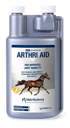 Comprehensive joint nutrition for ArthriAid horses