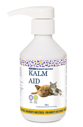 Calm Aid soothing supplement for dogs and cats