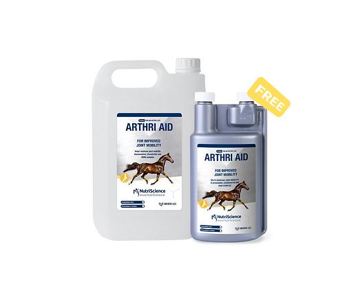 Komplexná kĺbová výživa pre kone Arthri Aid 5 l + Arthri Aid 1 l