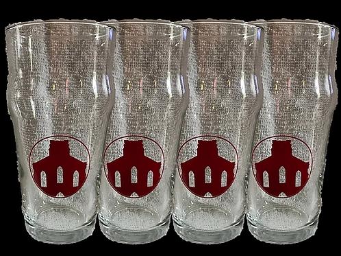 Saint Joseph Brewery Pint Glasses - Set of 4