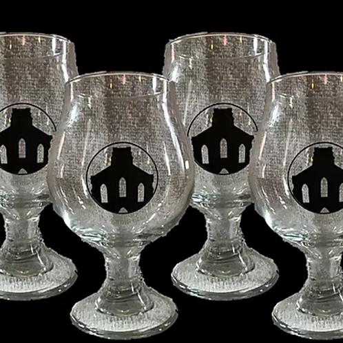 Saint Joseph Brewery Tulip Glasses - Set of 4
