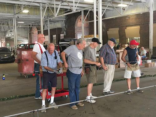 Retirees Testing Lights