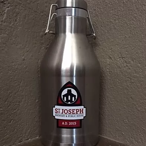 Saint Joseph Brewery 64 Oz Stainless Steel Insulated Growler by Miir