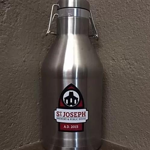 Saint Joseph Brewery 64 Oz Stainless Steel Insulated Growler by Miir