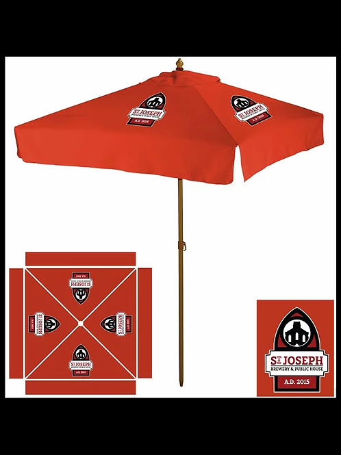 Saint Joseph Brewery Patio Umbrella