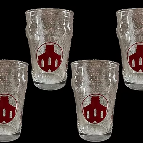 Saint Joseph Brewery Half Pint Glasses - Set of 4