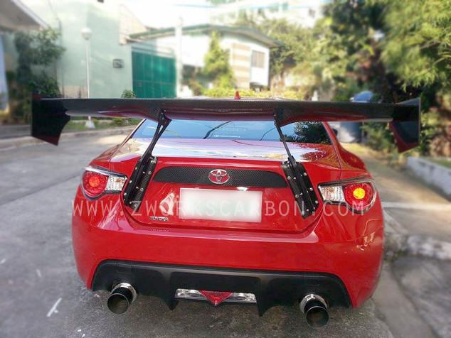 RB version 1 gt wing 40k carbon