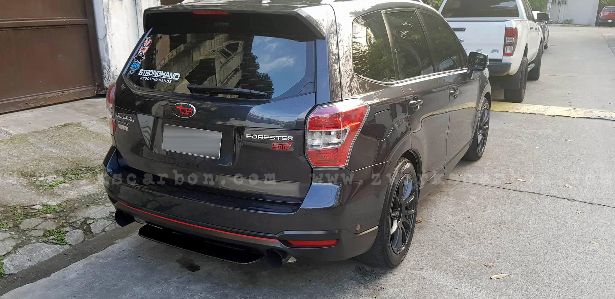 rear diffuser 8k carbon