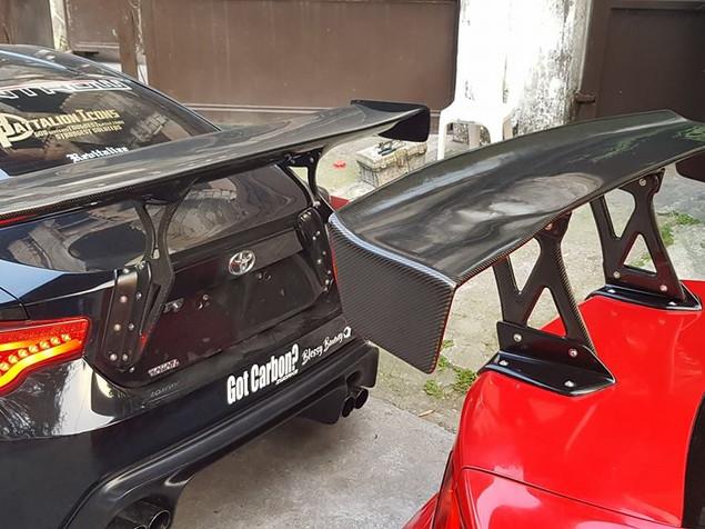 v2 bumper with 10pcs led  26,000 painted + V1 kits