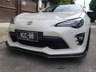 front lip for 2018 bumper P10,500