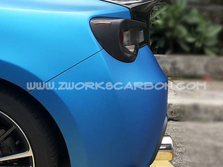 chargespeed kit for BRZ/86 includes: front lip side skirts/pair rear spats/pair 24k set in carbon 16k/matte black