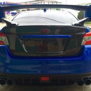 oem/sti kit includes: front, sides and rear spats @ 23k Rear diffuser@ 8k Muffler guard 6k STI wing full carbon 30k