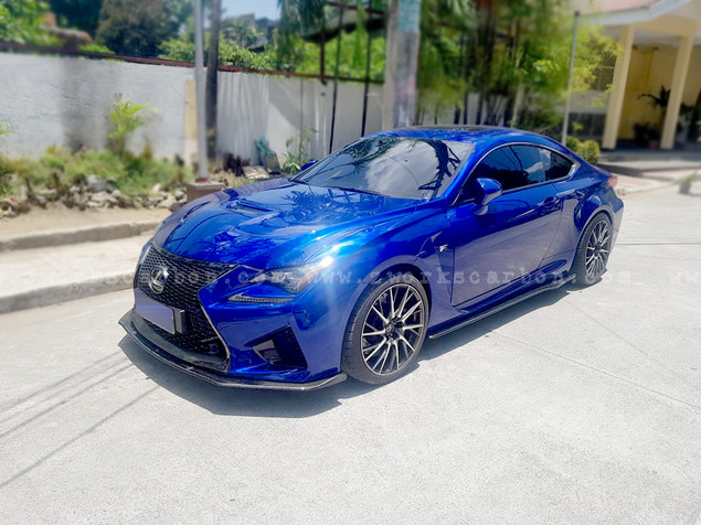 diffuser kit for lexus #RC-F inludes front and side differs 45k