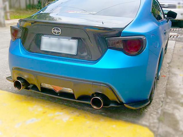 Carbon Trunk 18k Rear Diffuser 11k