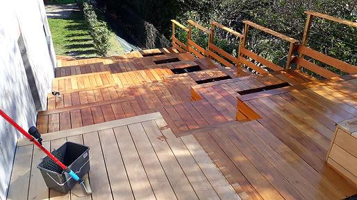 Entretien terrasse bois