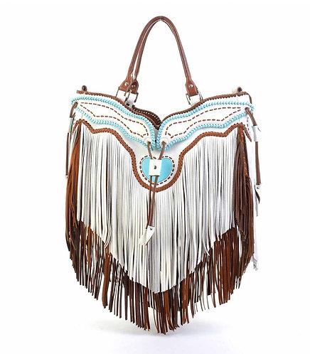 White Tassel Bag
